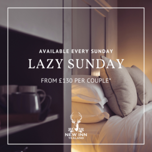 Lazy Sunday Room offer at the New Inn Yealand