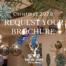 Christmas brochure request for 2020 with Christmas baubles